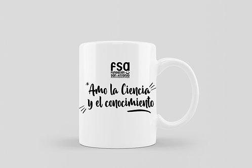 Mug FSA (Amo la Ciencia y el Conocimiento)