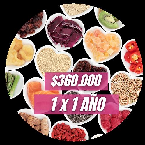 Dona 1 Ayuda Nutricional por 1 año