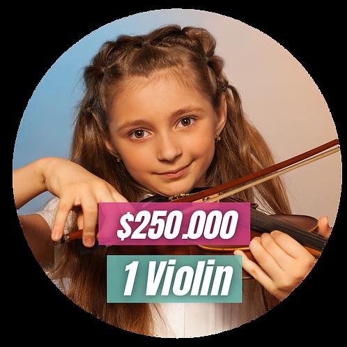 Dona un violín