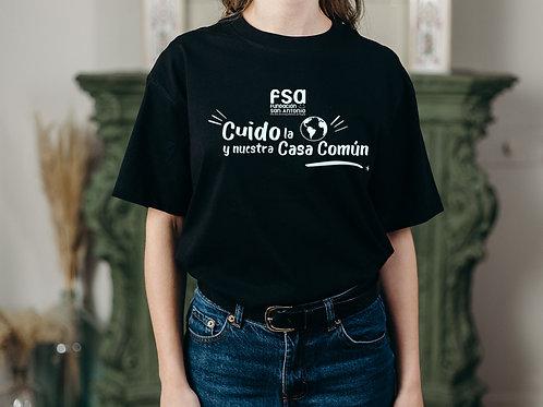 Camiseta FSA (Cuido la tierra y nuestra Casa Común)