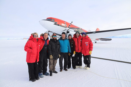 Emperor penguin research 2018 - the field work blog