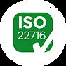 nous sommes certifiés ISO 22716 pour la fabrication de produits cosmétiques