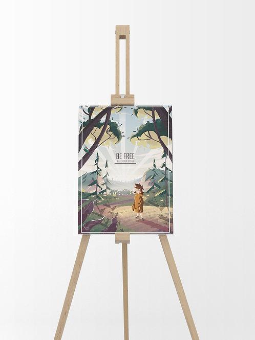 Make your Dream : Tableau sur toile 40x30 cm
