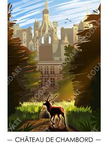 Le cerf du château