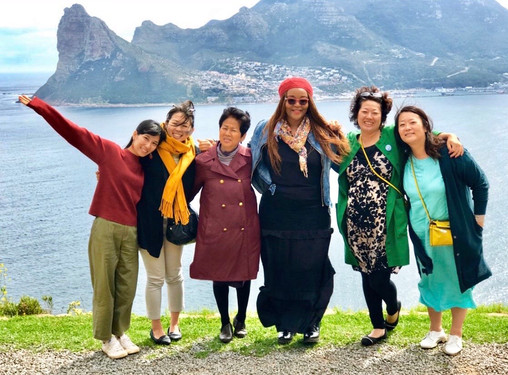 Japanese Visitors in Cape Town
