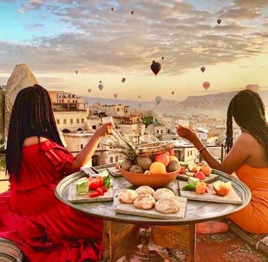 Friends in Cappadocia