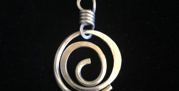 Spiral Pendant by Angela Rose