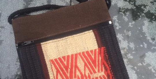 Hand Woven Bag in the Naga Tradition.