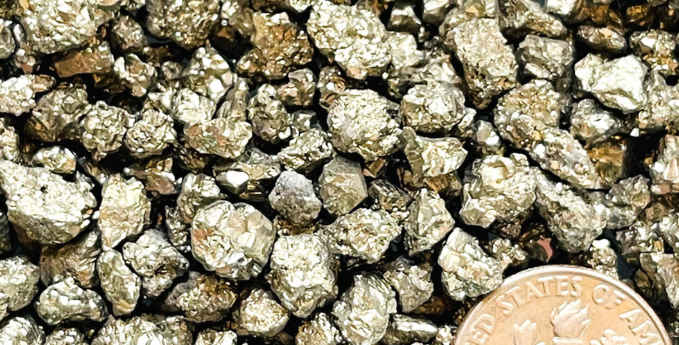 Natural Crushed Pyrite