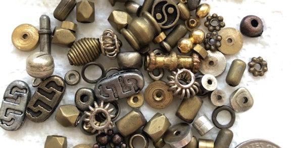 Brass, Sterling & Vermeil Spacers