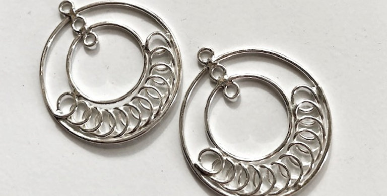 Sterling Silver Jewelry Component
