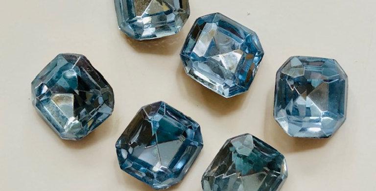 Vintage Czech Crystals-Topaz