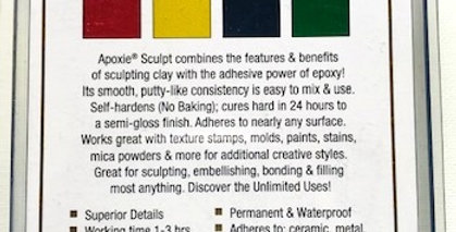 Apoxie Sculpt Color Kits