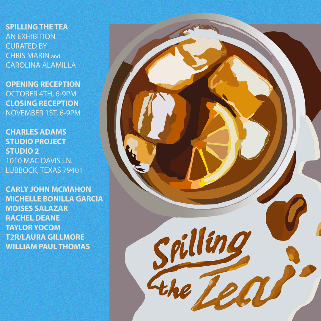 Spilling the Tea Flyer 3
