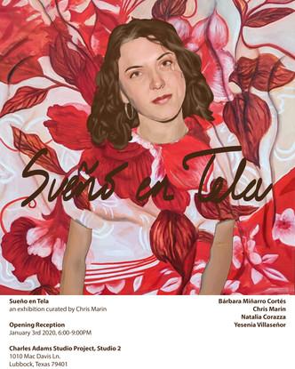 Sueño en Tela Poster: Natalia Corazza