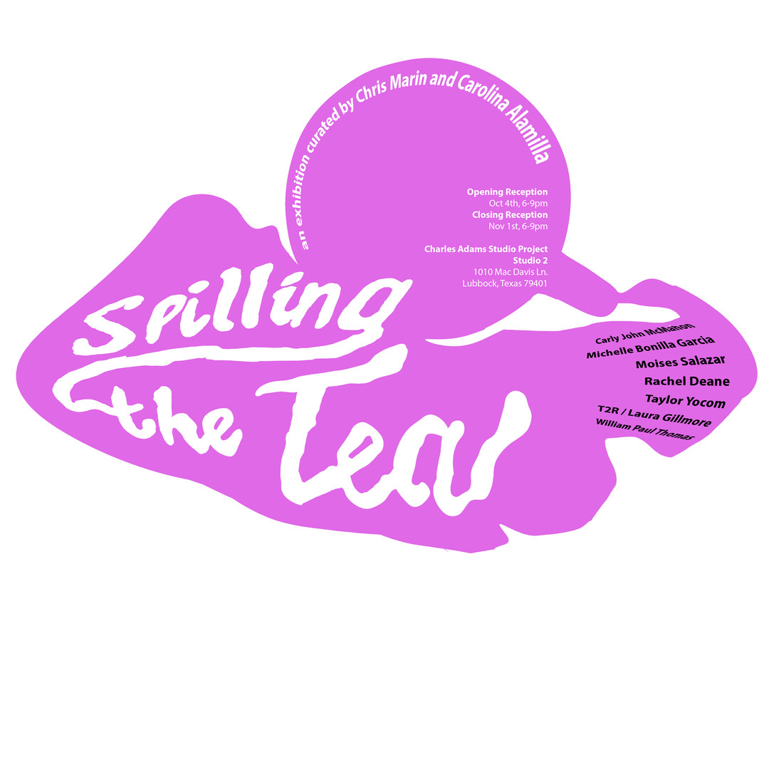 Spilling the Tea Flyer 4