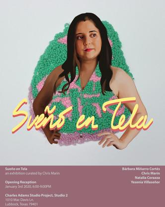 Sueño en Tela Poster: Bárbara Miñarro