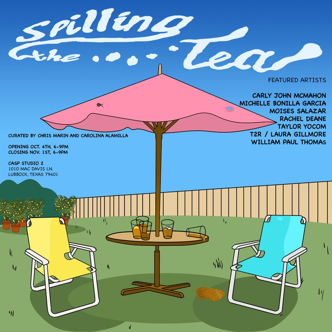 Spilling the Tea Flyer 1