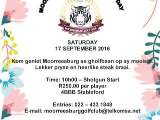 Ladies Golf Day - 17 September 2016