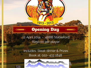 Perdeberg Motors Sponsors the Moorreesburg Golf Club Opening Day