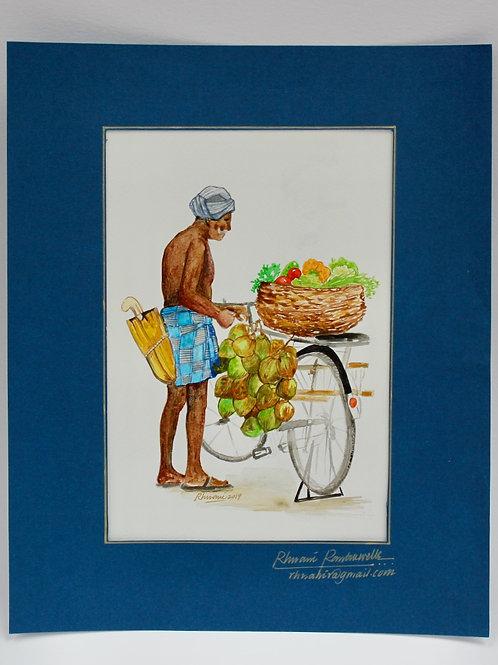 'The Fruit Seller'