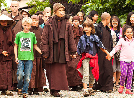 A Walking Meditation By Thich Nhat Hanh