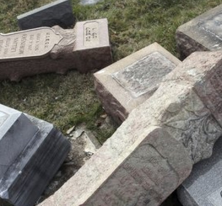 Statement on the Desecration of Gravestones in Mt. Caramel Cemetery