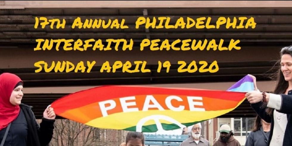 Philadelphia Interfaith Walk for Peace and Reconciliation