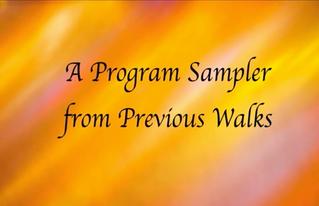 Archived: Philadelphia Interfaith Peace Walk Program Sampler