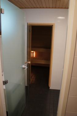 Kodinhoitohuone- kylpyhuone- sauna