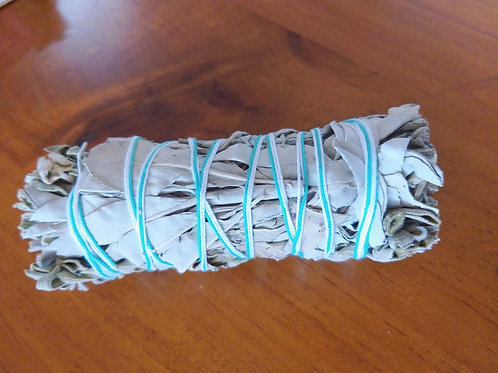 Clearing ~ Purification ~ Protection - Sage only Smudge Wand