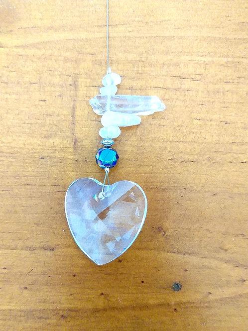 Heart Chakra Balancing Suncatcher