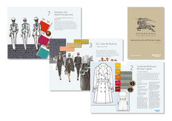 Barclays – Burberry pitch book