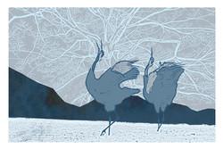 Russian Cranes