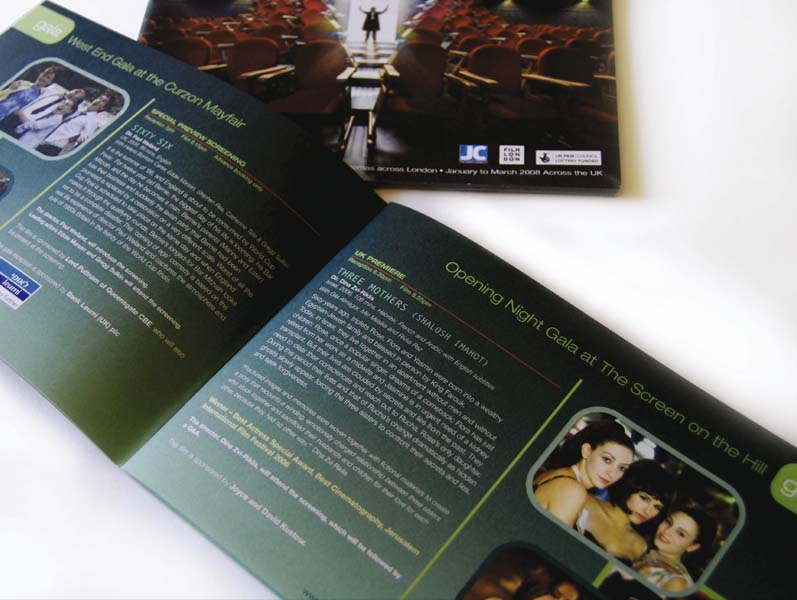 Jewish Film Festival catalogue