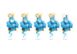 Genie character development