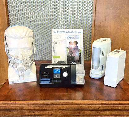 Valmed Portable Oxygen and CPAP