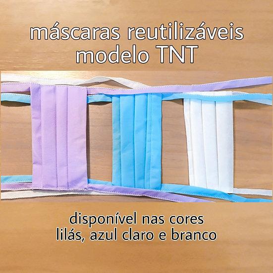 Máscaras Reutilizáveis | TNT