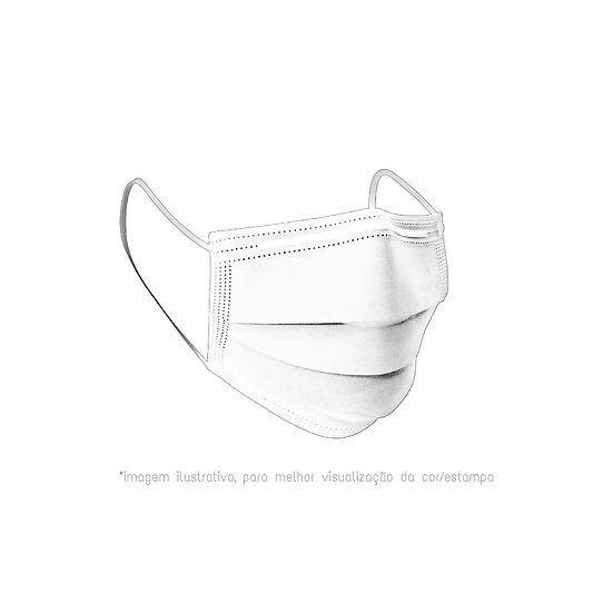 Máscaras reutilizáveis | cores lisas