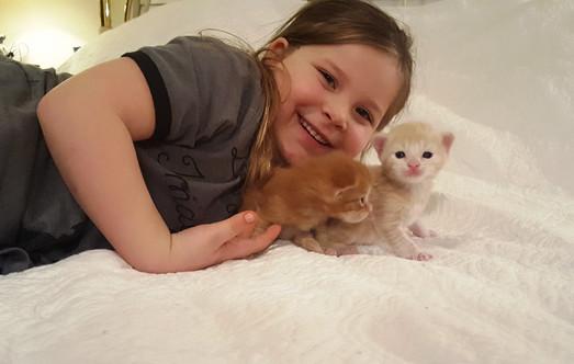 Elle & kittens.jpg