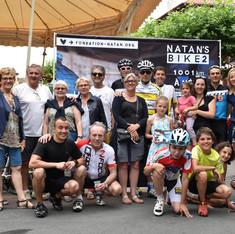 Arrivée Natan's Bike 2 St Jean de Luz Juillet 2016