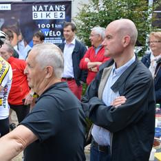 Départ Natan's Bike 2 Angers Juillet 2016