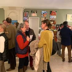 Expo Photos Peintures Natan Les Ponts de Cé Novembre 2019