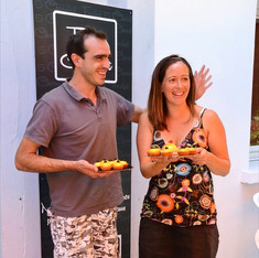 création de la pâtisserie Le Natan par Samy et Elodie Juillet 2016