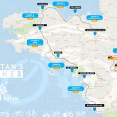 Tour de Bretagne Natan's Bike 3 Juillet 2018