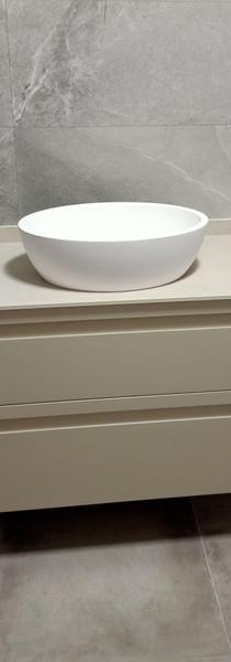 Mueble baño suspendido lacado