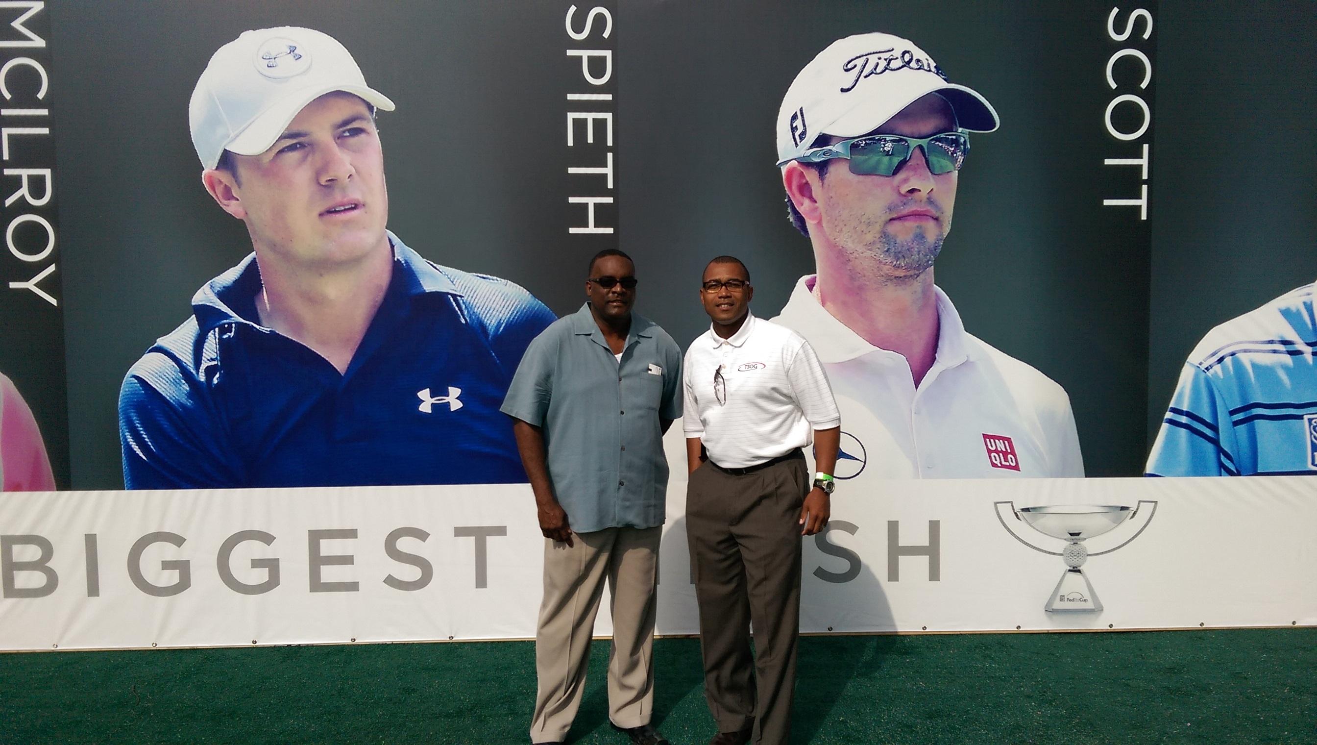 East Lake Golf Tournament Event- McAfee Sponsored