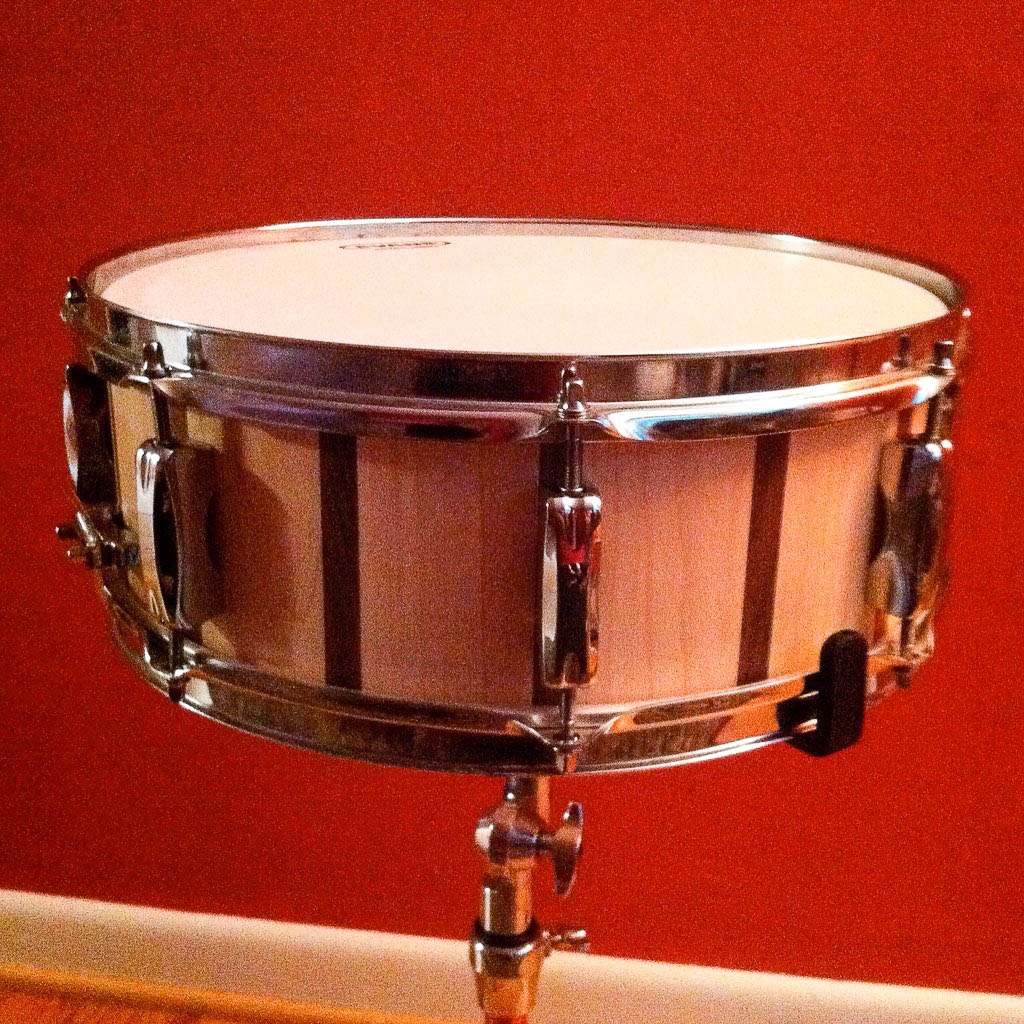 maple walnut snare