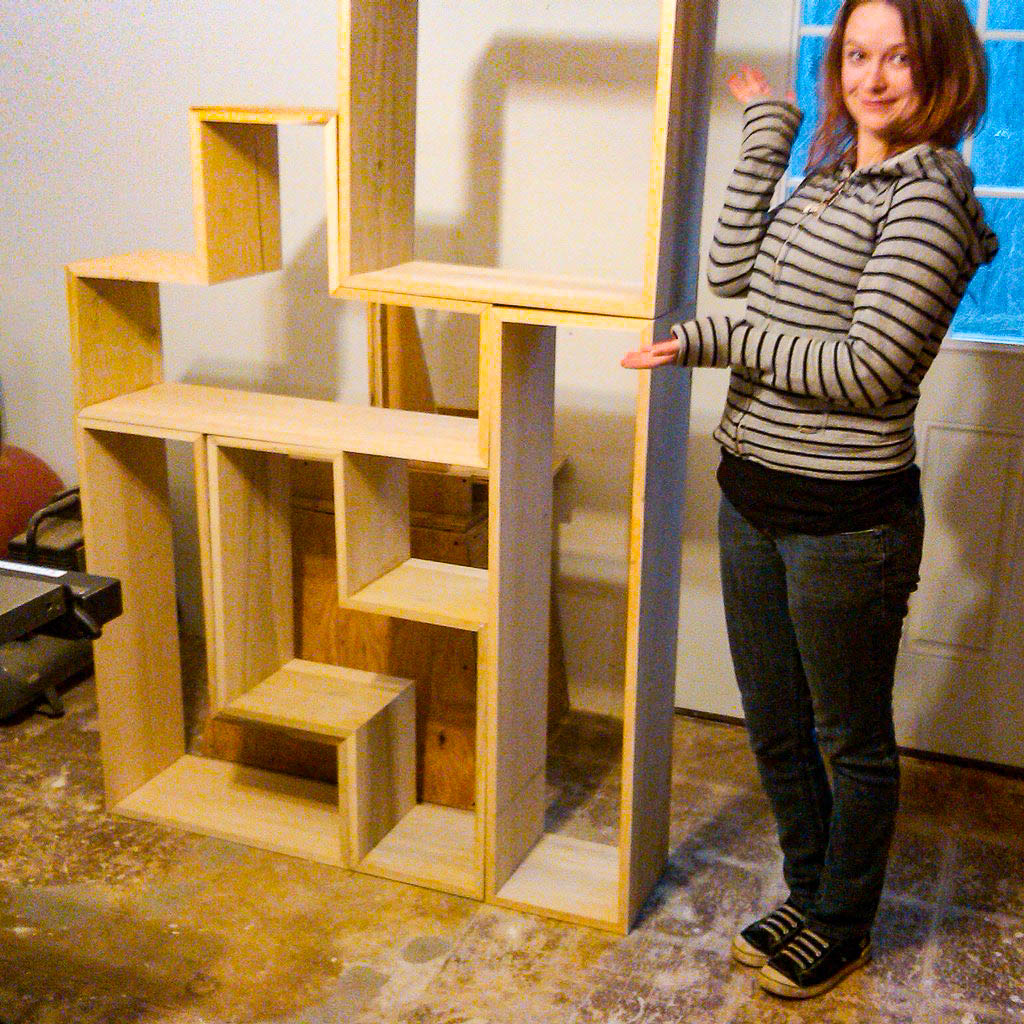 tetris shelves