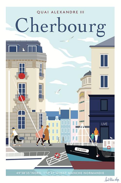 Cherbourg - Quai Alexandre III -  TP41